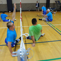 Kazakhstan Sitting Volleyball Delegation